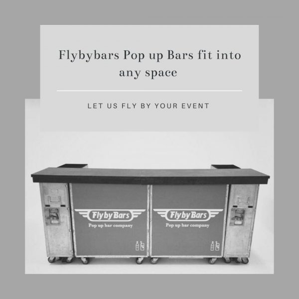 Flybybars Pop up Bars fit into any space